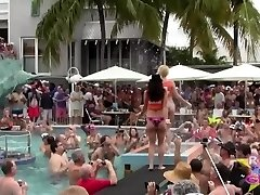 Nude Pool Sluts Key West Fantasy Fest Rnd2