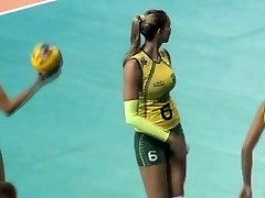 femmes voley hottt (gold) 5