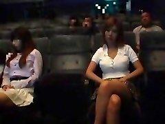Exotic Asian super-bitch in Incredible Public, Blowjob/Fera JAV video