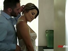 Buxom wife Alix Lovell is always prepared for such emotional sex with her hubby