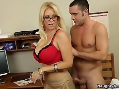 Oral intercourse lesson with my hot towheaded teacher