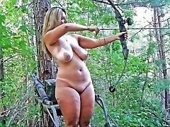 Videoclip - Bbw outdoor