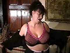 Ugly Mature Striptease