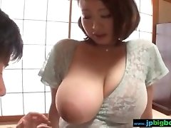 Busty japanese girl touched and fucked Two/4