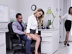 Isabelle Deltore, Isabella Uber-cute In Intra Office Intercourse Romp