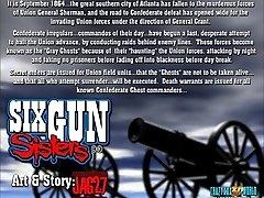 3 Dimensional Comic: 6 Gun Sisters. Episode 1