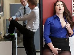 Lola Foxx & Danny D in Manager Executive Cockslut - Brazzers