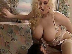 British Plumper Kirsten Halborg rectal fucked face spunked