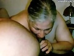 Granny Lynne Gets Face Screwed and a Mouthful of Cum