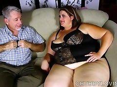 Super super-sexy big beautiful woman enjoys a hard fucking