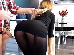 Big titties Abigail naughty nylon fetish