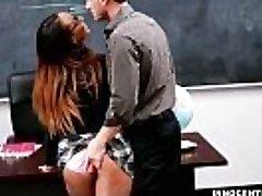 InnocentHigh - 18yo black nubile, Teanna Trump fucked by her teacher