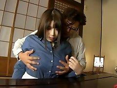 Horny Japanese model Chitose Saegusa in Horny cuni, bbw JAV clip