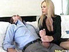 Brooke Tyler gets pussy screwed in Pink Cigar Bonus by BigTitsBoss