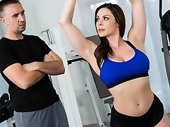 Kendra Fervor & Keiran Lee in Personal Trainers: Session 1 - Brazzers