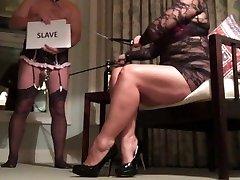 Femdom Sissy Hotwife Helps MILF Advertise for BBC Fun