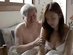 Korean Dad-in-Law Fuck His Stepson's Wife