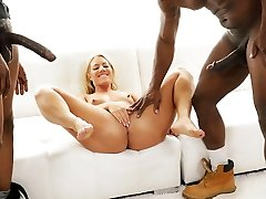 BBC Slut Candice Dare Wants Dp With Her Black Neighbors