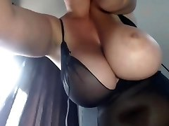 Mummy's Big Boobs - Smoking BBW
