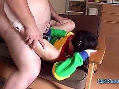 Petite Jav Teen Okita Devoured By Massive Thick Guy