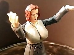 Gillian Anderson Xfiles Plaything Fetish fantasy sci sculpt WIP