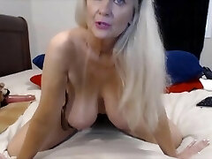 Extraordinaire granny with great big boobs and ass fucking