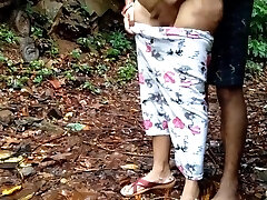 Younger Daughter Forest Outdoor Sex With Father