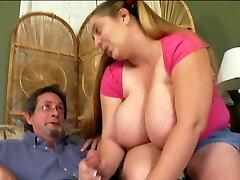 Ugly girl gives teacher handjob Big congenital tits