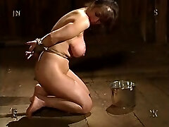 Big-titted Brunette Girl With Unique Boobs