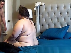 bbw upset during assfuck caught on IP cam
