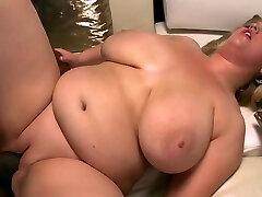 Blonde MILF BBW Fucked by Big Black Cock