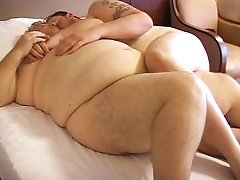 Chub fucks his fat dad