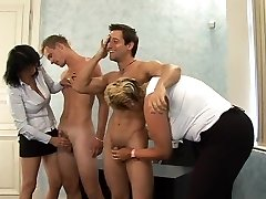 What is the Name of the Ash-blonde Czech CFNM Chubby Milf ?