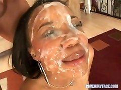 90 Facial CUMSHOTS compilation