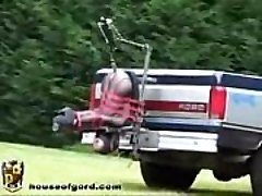 Auto Truck Plumb Machine - More Videos WWW.FETISHRAW.COM