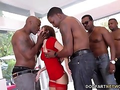 B-day Gangbang with Cool Mom Alana Cruise