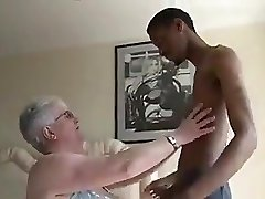 Immense Boobied Grandma Tries Dark Chocolate