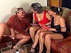 3 ugly women toying