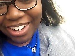 Ugly girl fucks college student