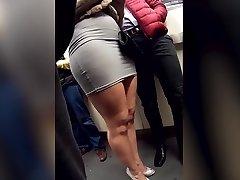 upskirt smashing slut