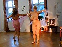 Naked Femmes. Erotic Dance.