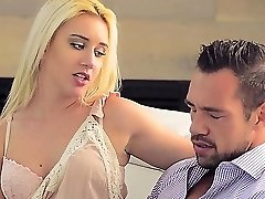 Brooke Underhill enjoying inhaling on a huge dick