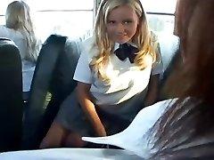 Bree - White SchoolGirl Bus Super-bitch