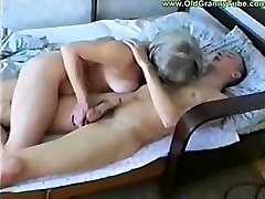 Greedy middle-aged witch fucks very young, but stiff and stiff trouser snake