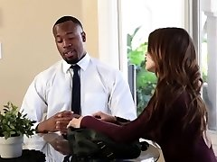 TeensLoveBlackCocks - Puny Secretary Stuffed by BBC