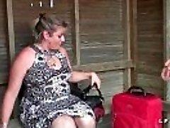 BBW Mere de famille francaise prise en double invasion pour sonny audition porno