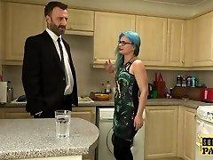British spex slut spanked into obedience