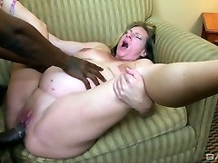 Sex-insatiable pregnant whore Charlie Macc is fond of humungous black spunk-pump