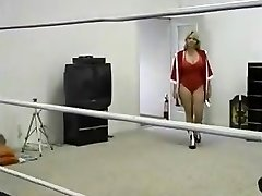 Plump Milf Ring Wrestling