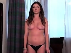 Casting babe goes home after gonzo sex and culo hole scre